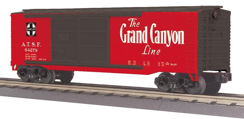 MTH Railking O Train Gulf Mobile /& Ohio 40/' Double Door Plugged Box Car 30-71005